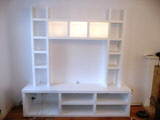 white Richmond Floating shelving in cambridge